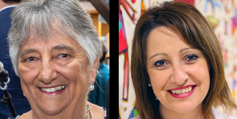 Sr Louise Cleary CSB (left) and Dr Lisa McDonald (Supplied)