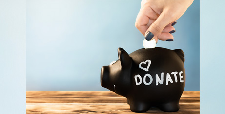 Just 26.7 per cent of the Australian population made a donation in 2018/19 (Bigstock)