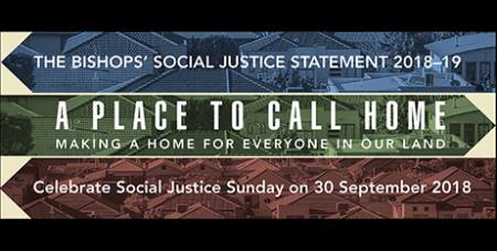 The statement urges people to consider those who are homeless or facing housing stress (ACBC)