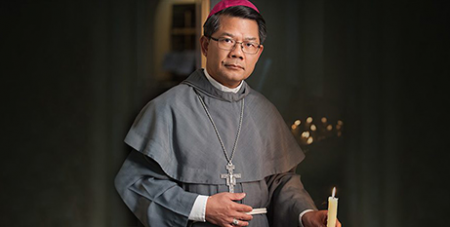 Bishop Vincent Long OFM Conv. was a member of the delegation to Papua New Guinea (Parramatta Diocese)