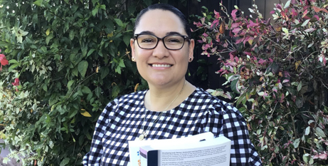 Carmel Debel is taking part in ACU's Away from Base program for Indigenous students (ACU)