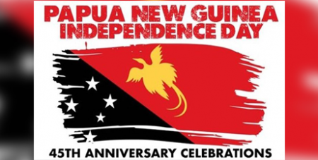 PNG achieved its independence at midnight on September 15 and 16, 1975, ending 69 years of Australian rule (PNGSICBC)