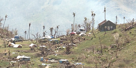 The Suva archbishop gave first-hand insight into the plight of Pacific islanders affected by rising sea levels as a result of climate change (Cop 23 Fiji)