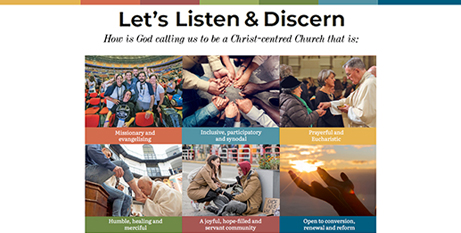 The Let's Listen and Discern guide will help people participate in communal discernment (ACBC)