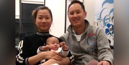Huyen Tran and Paul Lee with their daughter, Isabella (Refugee Action Collective)