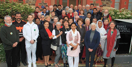 1011faith- Participants at the interfaith peace gathering in Adelaide (The Southern Cross)
