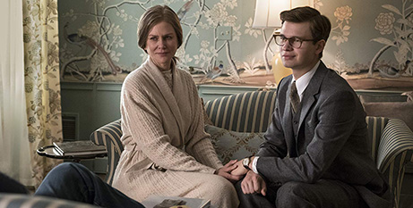 Nicole Kidman and Ansel Elgort in The Goldfinch (IMDB)