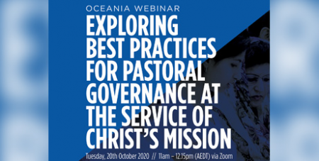 The webinar will draw upon the recommendations from The Light from the Southern Cross governance review (Parramatta Diocese)