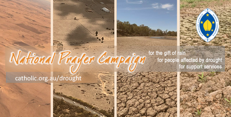 Bishop Columba Macbeth-Green OSPPE says the month of prayer is an additional response to the drought (ACBC)