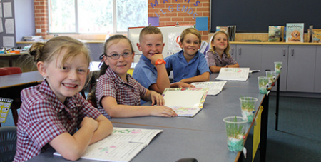 Bathurst diocesan schools including St Josephs Primary School, Blayney (pictured) will freeze fees in 2020 (Bathurst Diocese)