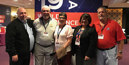 Members of the Australian delegation that attended the recent ICMA conference in Taiwan (ACBC)