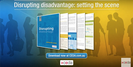 """The CEDA report calls on the Goverment to take a """"we find you first"""" approach to welfare (CEDA)"""