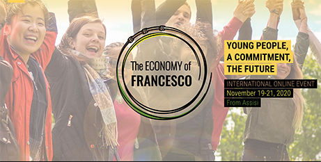 The Economy of Francesco event was held online at the weekend (Supplied)