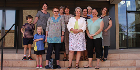 Members of the Archdiocese of Canberra and Goulburn Catholic Women's Taskforce (Supplied)