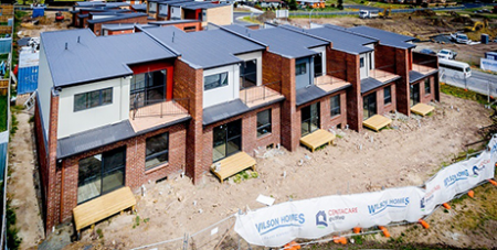 Centacare Evolve Housing is the largest largest builder of affordable housing in Tasmania (Supplied)