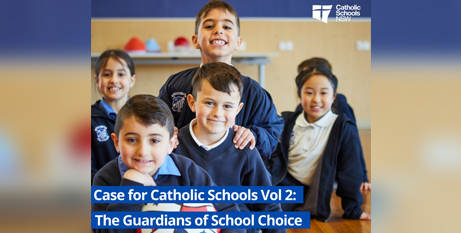 The report reveals some families are opting for a Catholic education for reasons other than religious values (Facebook/CSNSW)