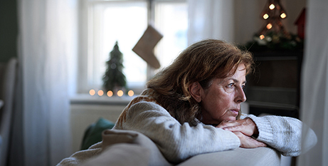 The survey revealed 50 per cent of participants who are unemployed or over 65 did not have plans for Christmas Day (Bigstock)
