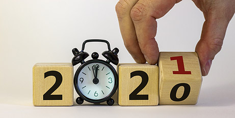 Time to say goodbye to 2020 (Bigstock)