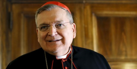 Cardinal Burke has been outspoken