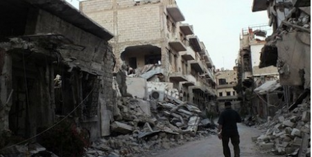 Carnage in Homs