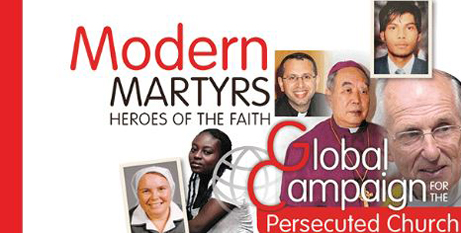 The campaign highlights Christian martyrdom today (ACN)