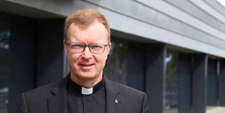 Fr Hans Zollner SJ was in Melbourne last week addressing seminarians and formators (Australian Catholics)