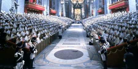 Bishops gathered in Rome